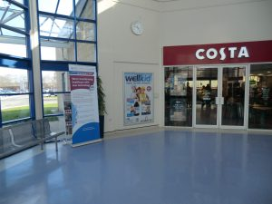 Example of NHS advertising - Wellkid at Warrington hospital
