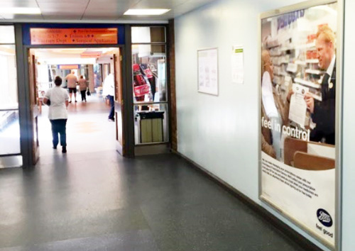 FAQs - Pulse Outdoor Media - Boots poster campaign at Wrightington hospital