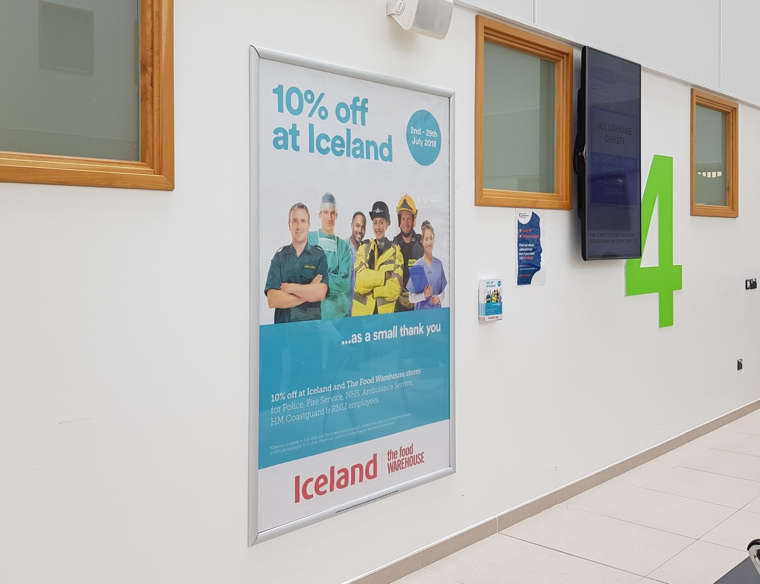 Iceland Christmas Campaign | NHS staff shown support by Iceland