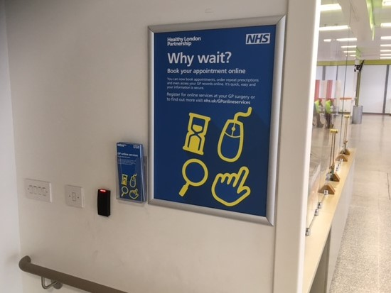 Pulse Poster Campaign - Launch of NHS London online services